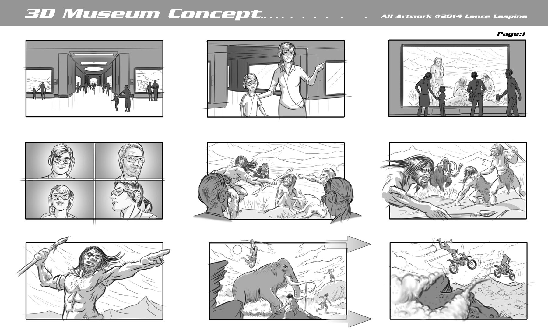 Lance laspina as storyboardsamples 11