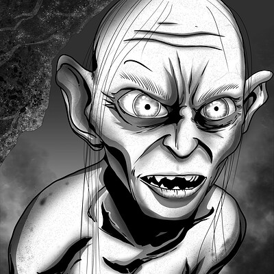 Christian woods gollum re ink