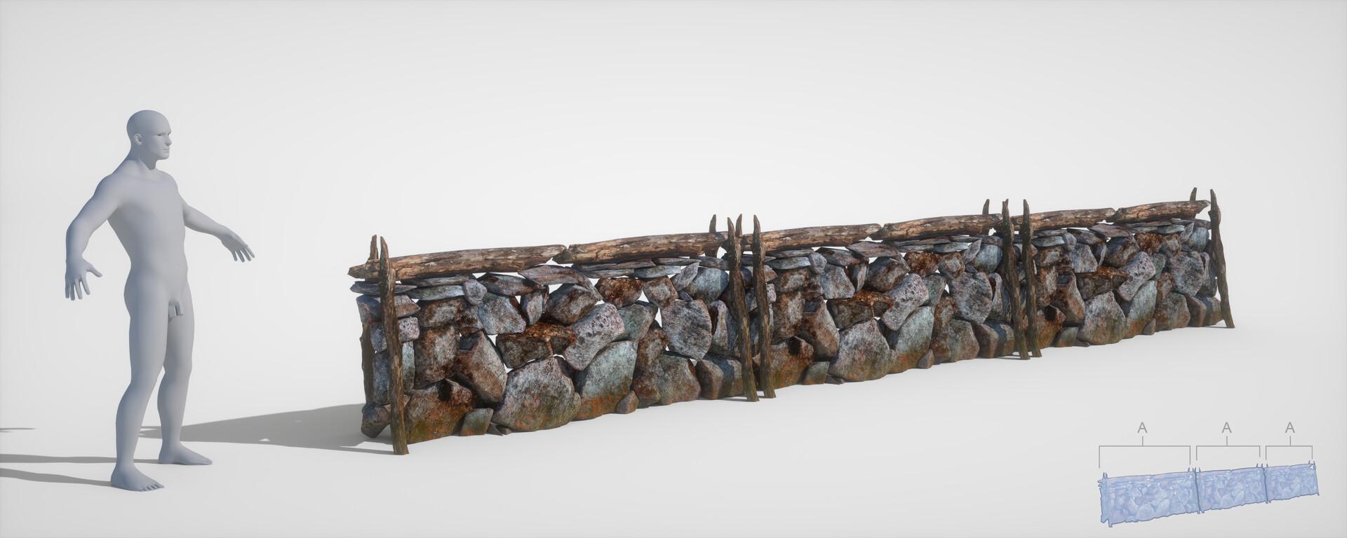 Jordi van hees stone wall