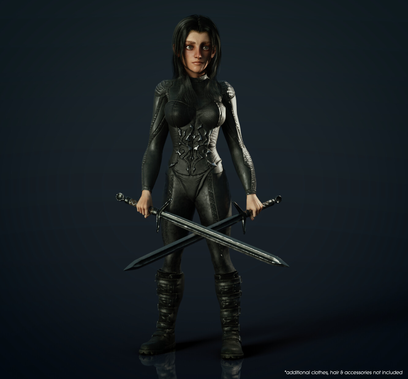 CC3 Stylized Female - Fit Morph
