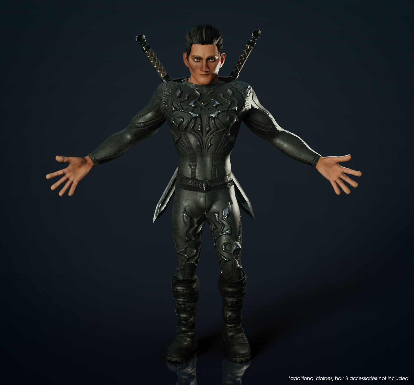 CC3 Stylized Male - Fit Morph