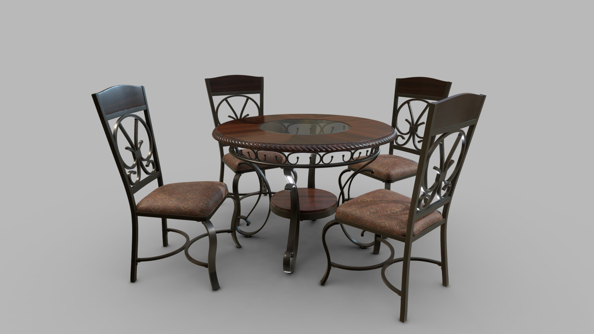 Timothy ahene dining table and chair set