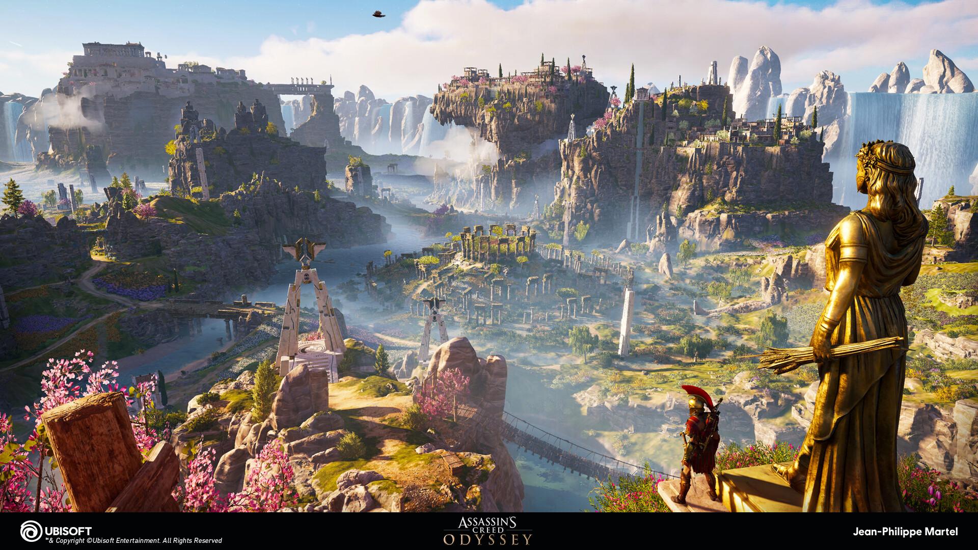 Artstation Assassin S Creed Odyssey Fate Of Atlantis Dlc