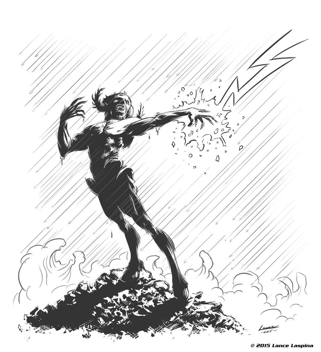 Lance laspina lightninghunter