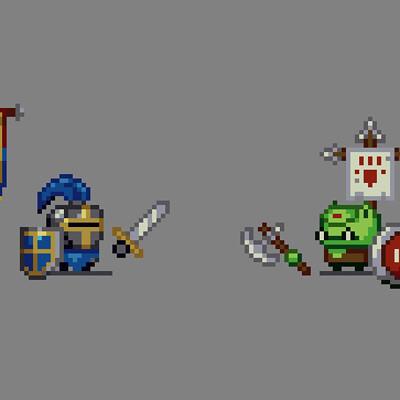 Knight vs Orc