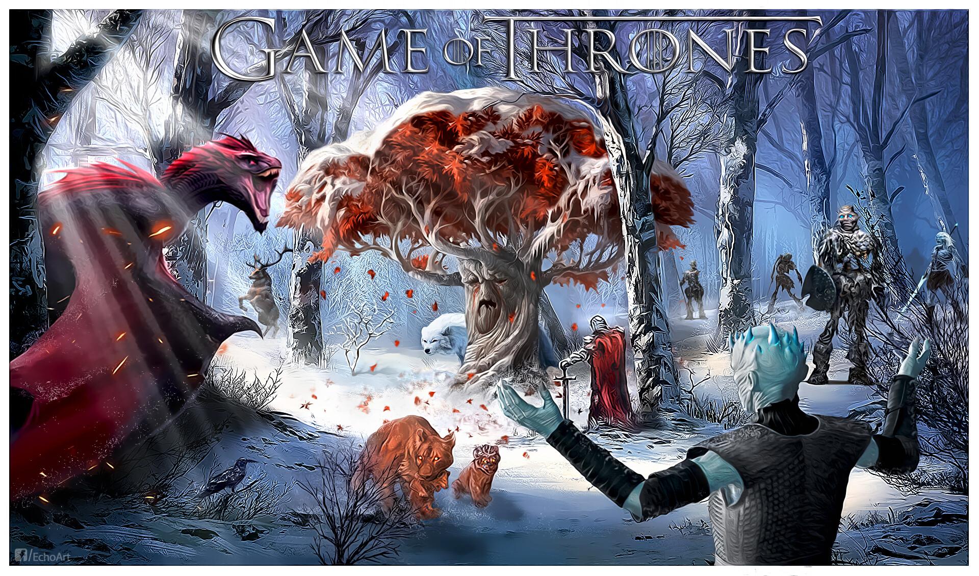 Artstation Game Of Thrones Wallpaper Echoart Hun