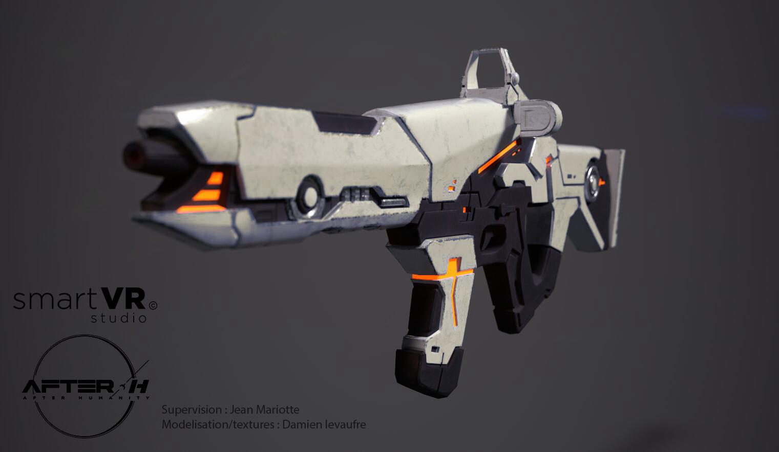 Damien levaufre gun 3 4face n