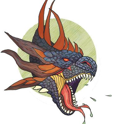 Okan bulbul dragon hex 02