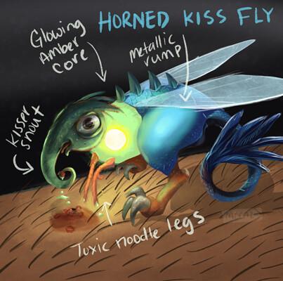 Mccal joy hornedkissfly mccaljoy