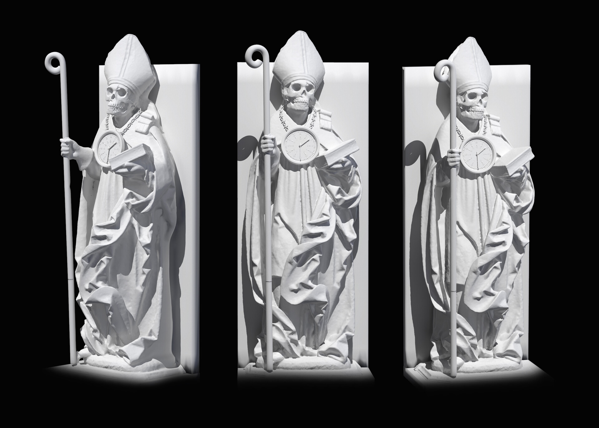 Pierre benjamin bishops skull