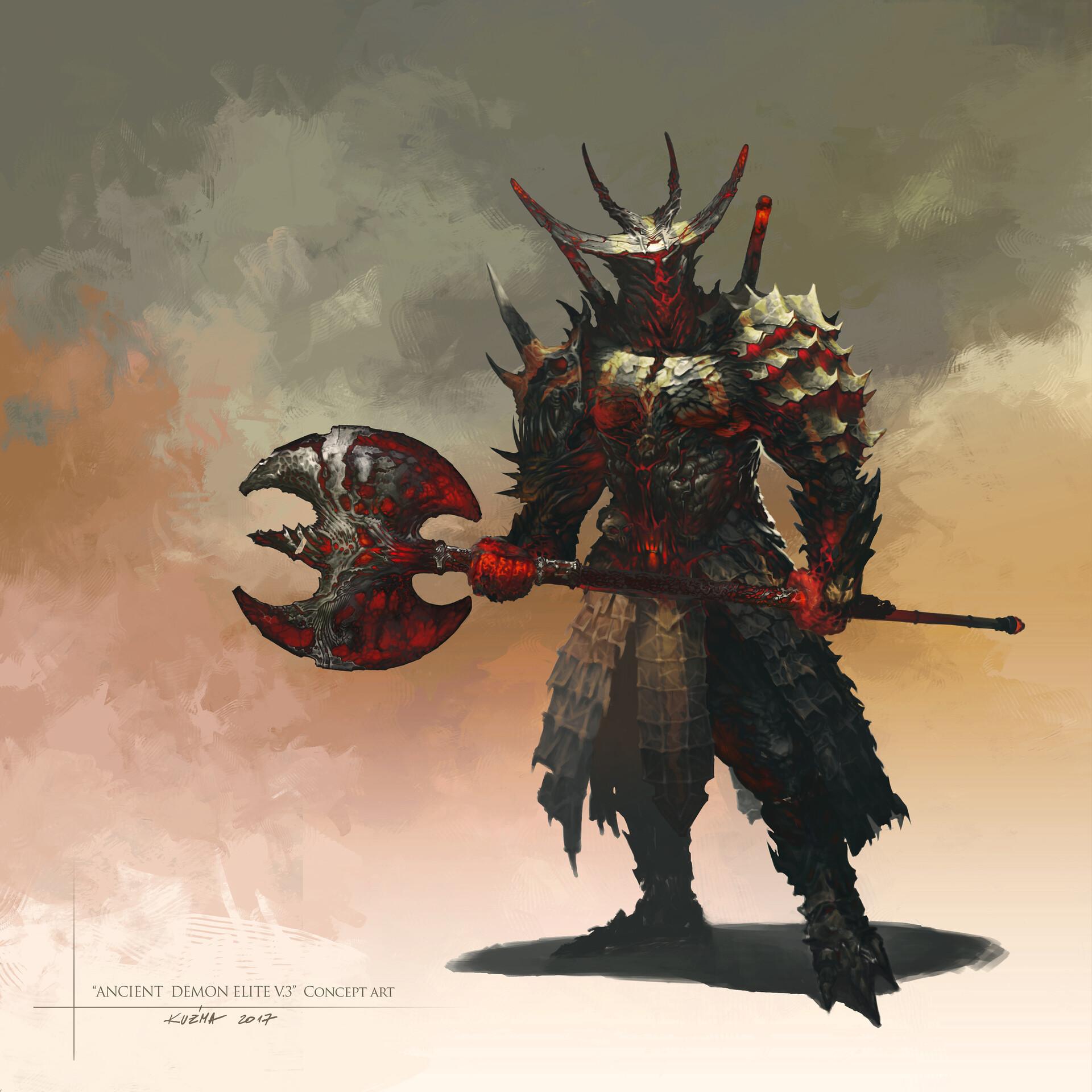 Jakub kuzma ancient demon elitev3