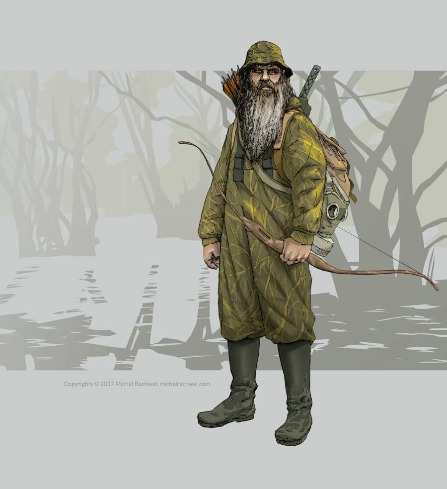 Michal rachwal michal rachwal hunter values and palette pose1b