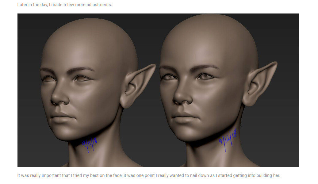 Julie beliveau sculpting workflow8