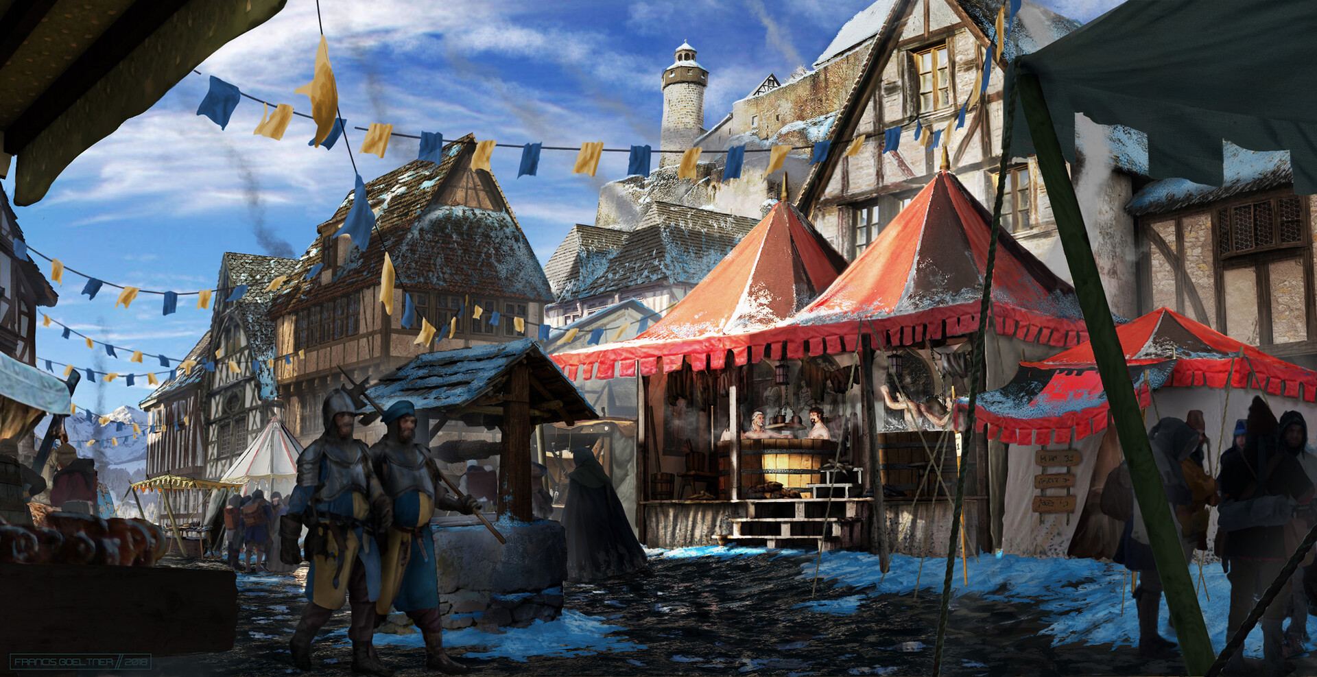 Francis goeltner medievalfantasy travelingbathhouse03 wip07 m