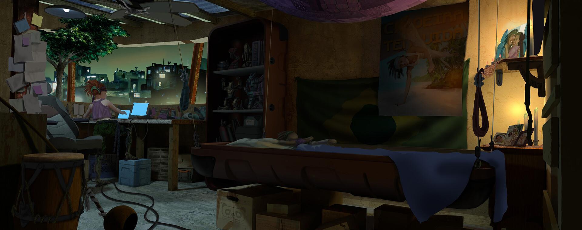 Francis goeltner m4 herokidshome bedroominterior night wip04 m