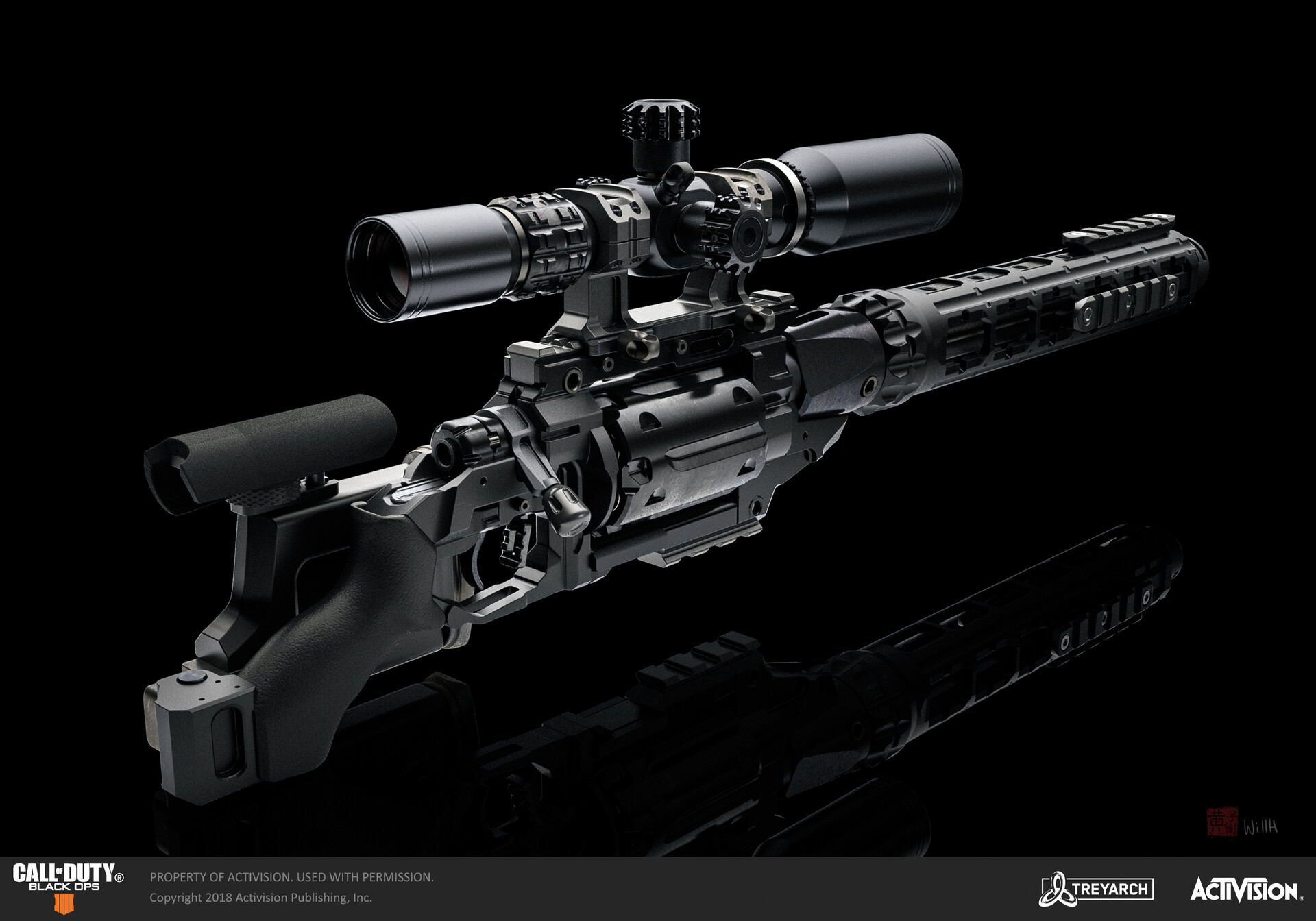 Artstation Call Of Duty Black Ops 4 Outlaw Will Huang