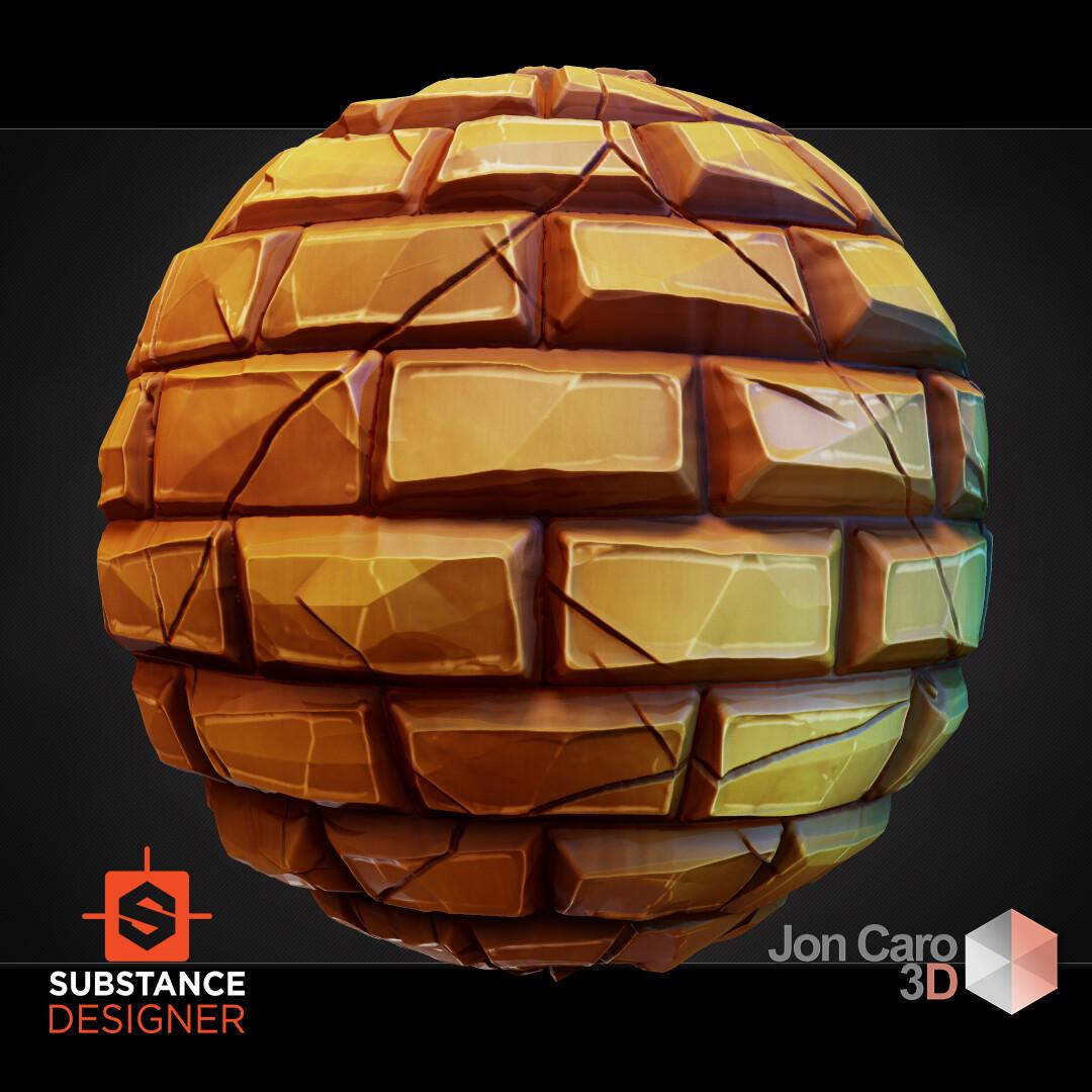 Jonathan caro jac brickstylized 01