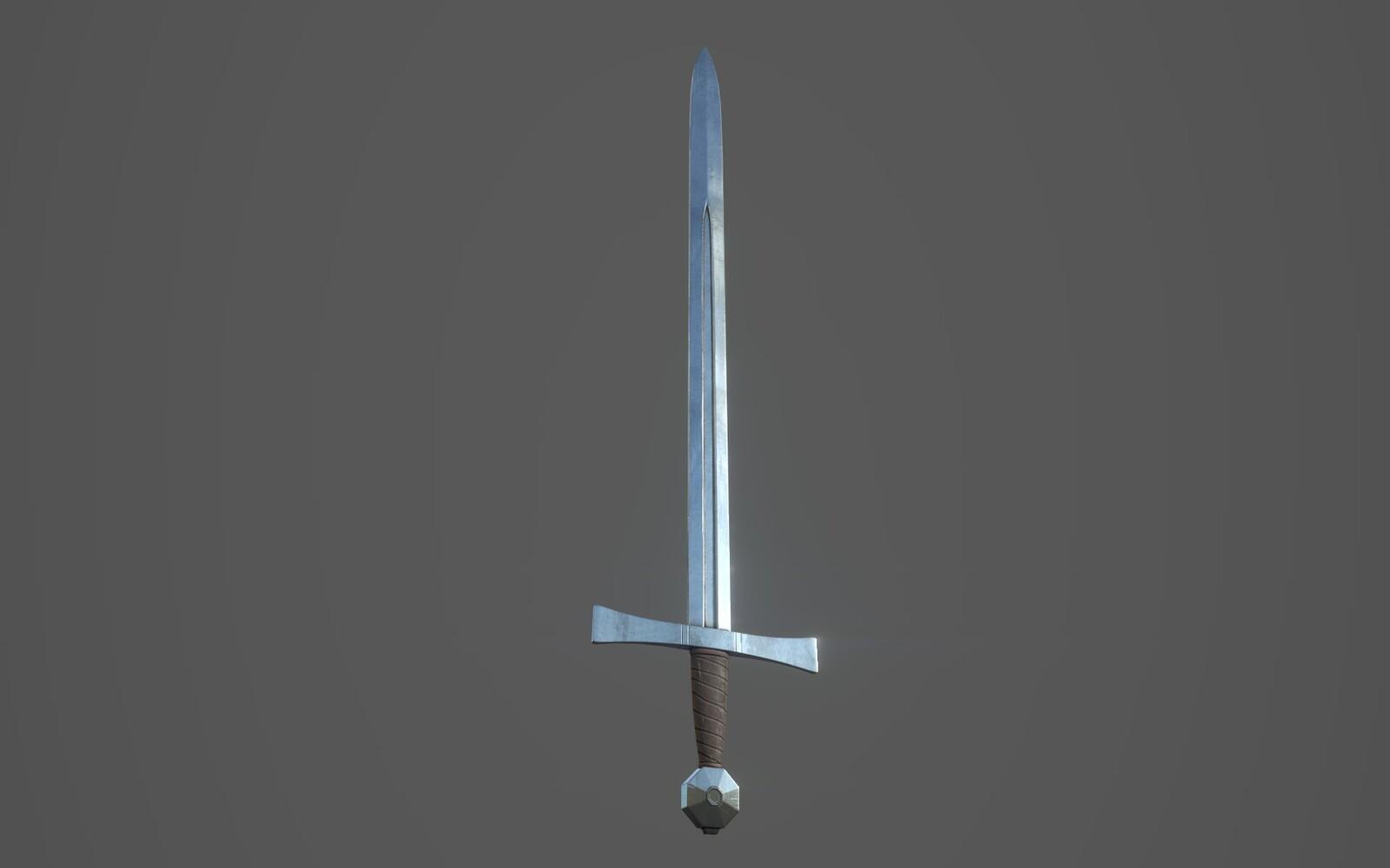 Arming Sword Render 2