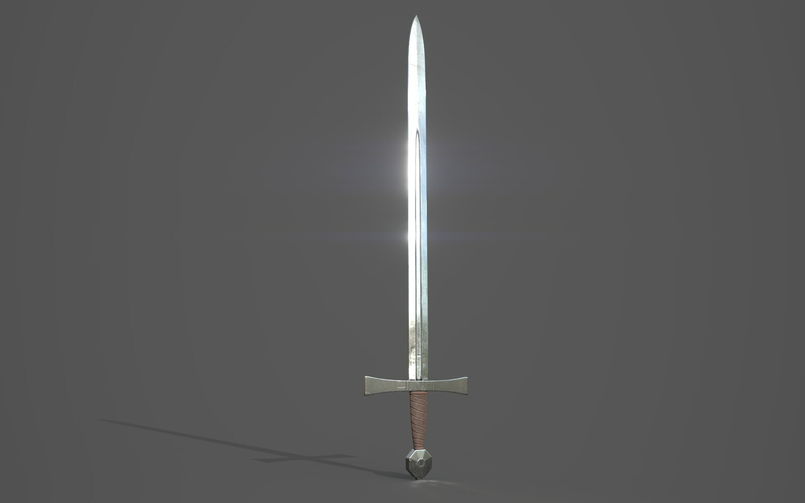 Arming Sword Render 5
