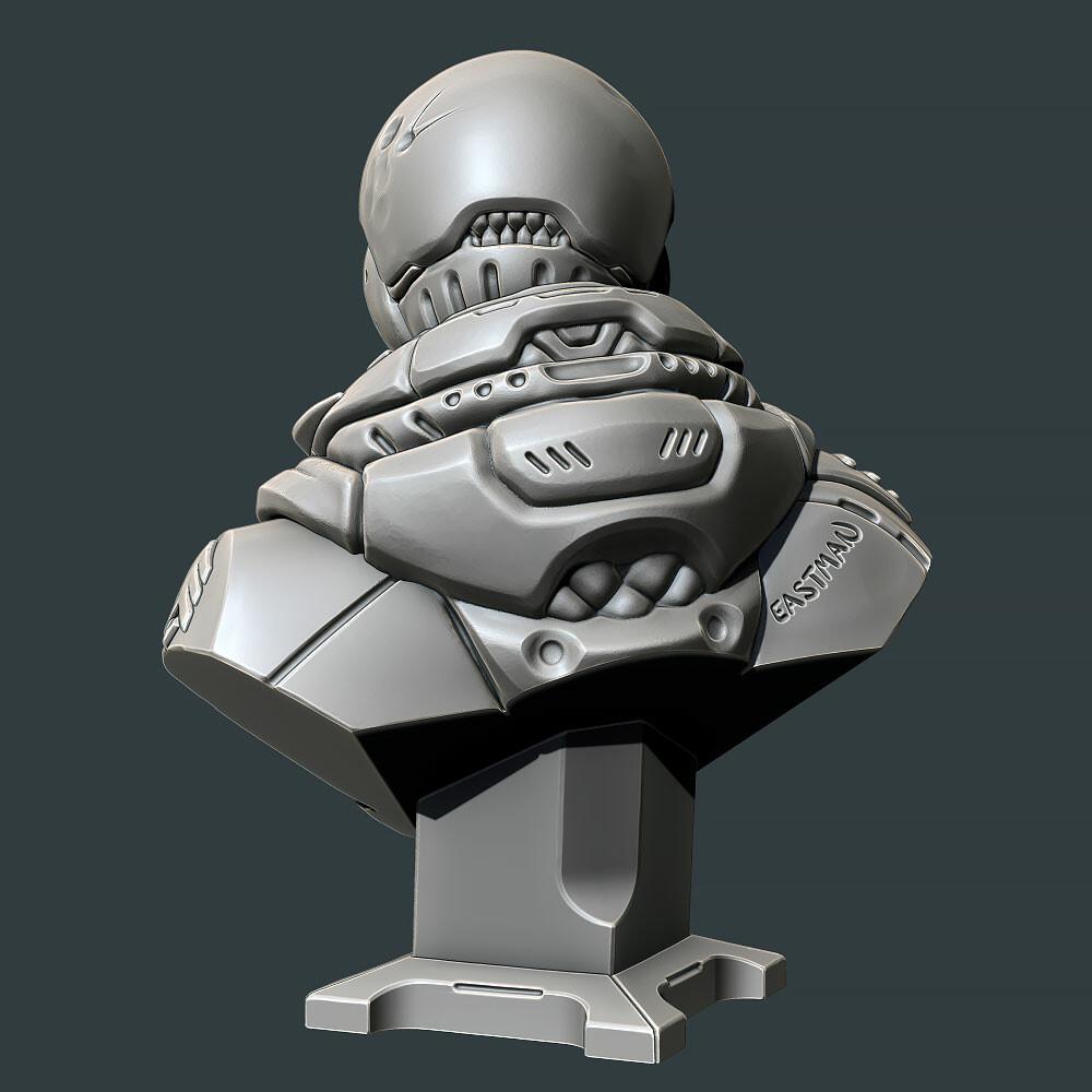 ZBrush render.