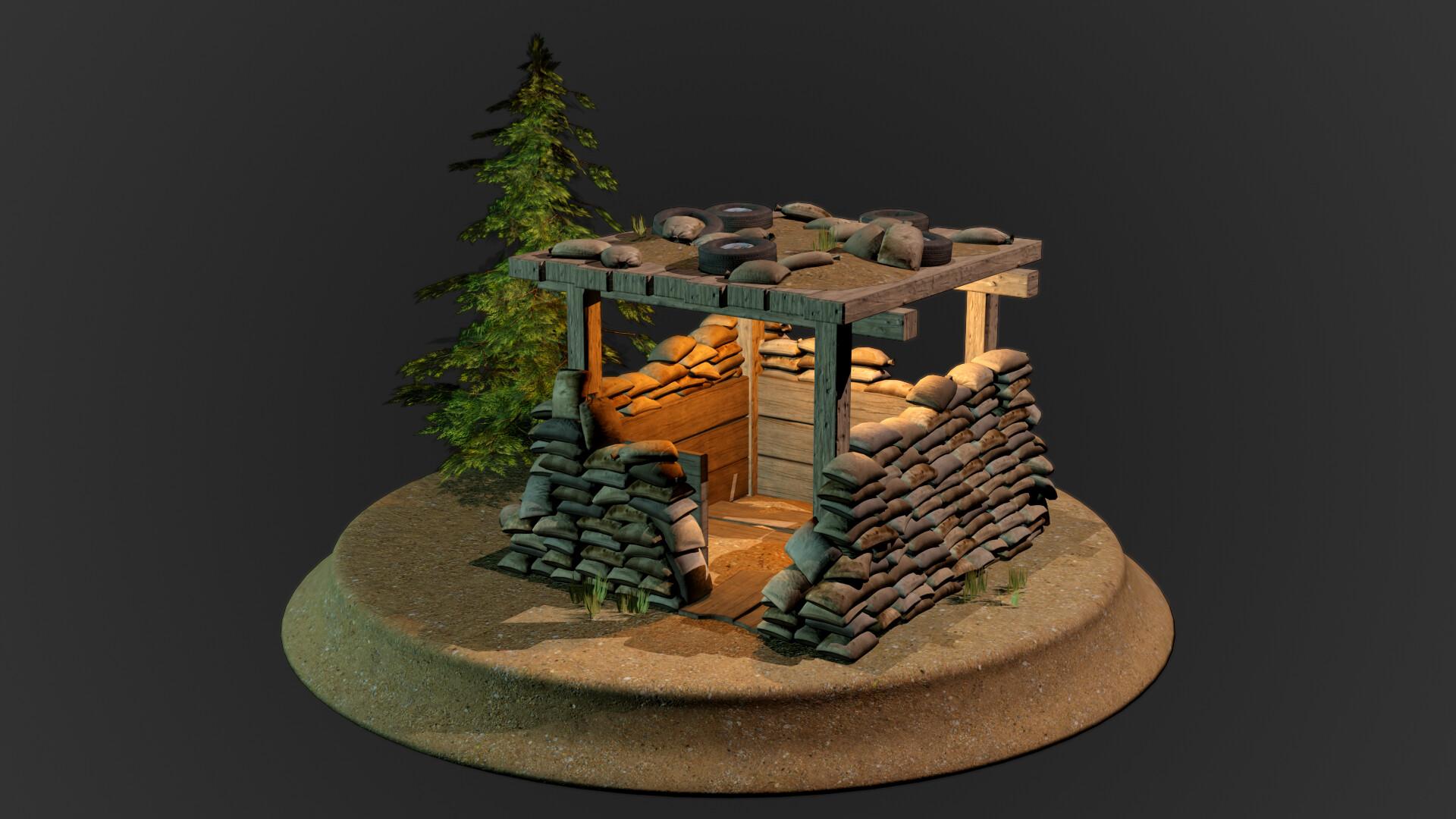 Jordan cameron sandbag bunker 2
