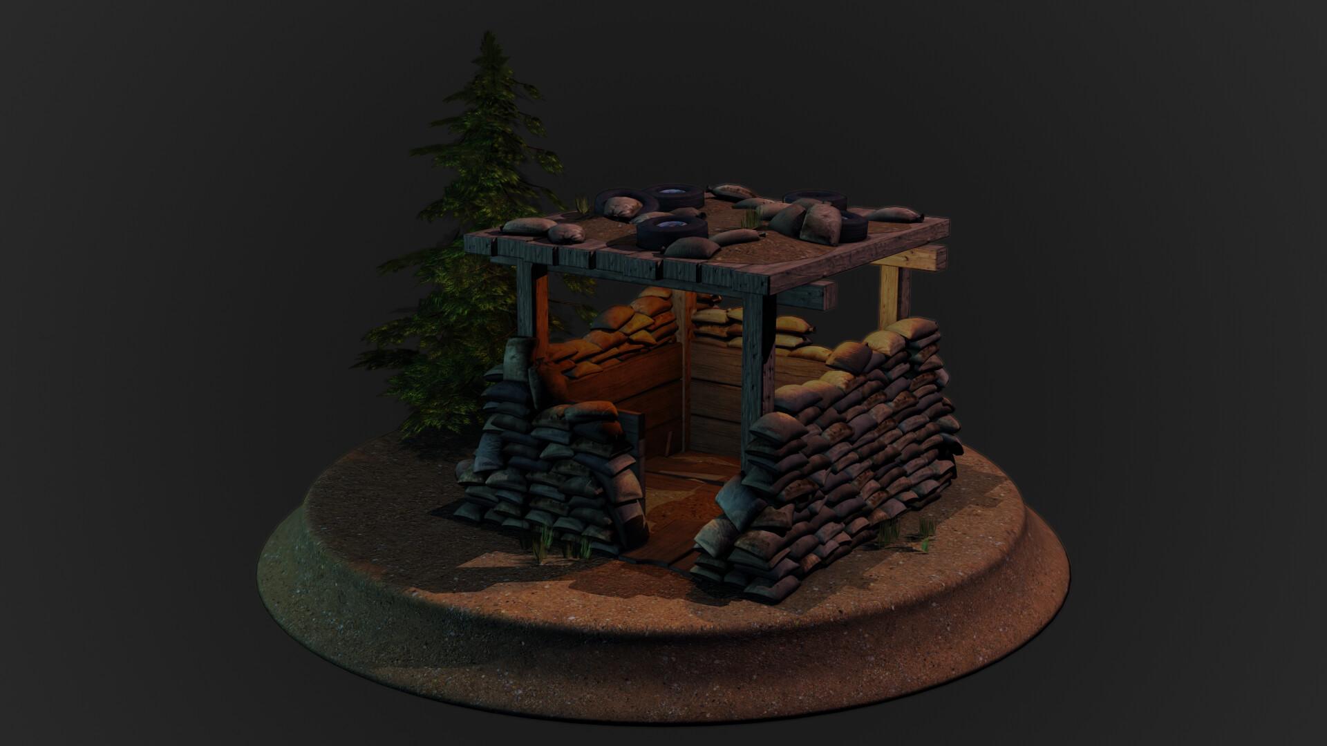 Jordan cameron sandbag bunker 12