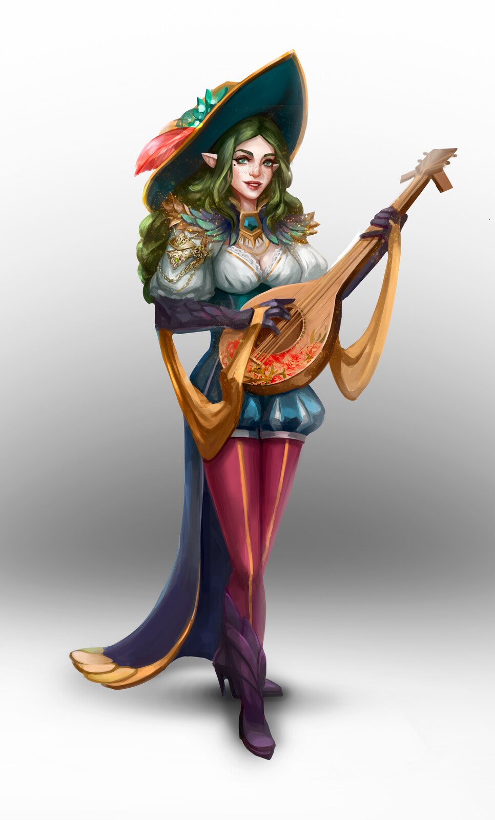 Marcia Ninfea, glamour bard (DnD character)