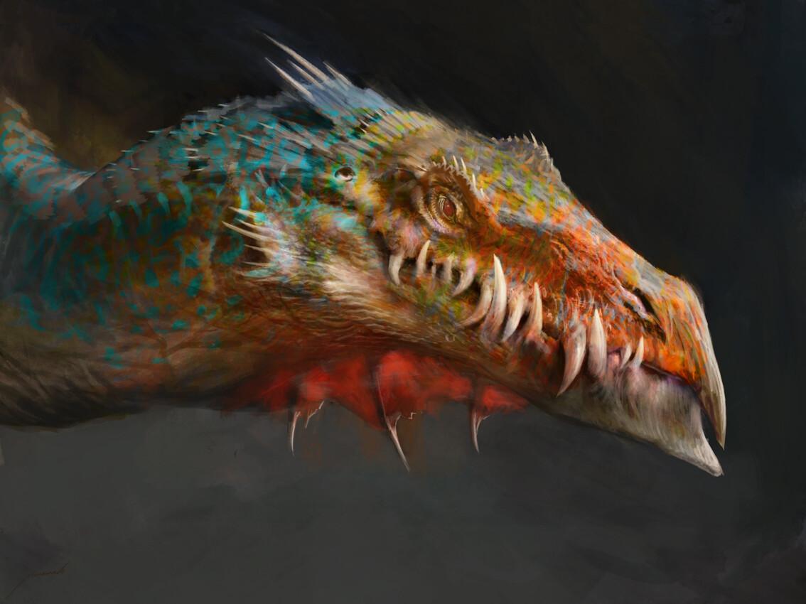 Multicolored Dragon