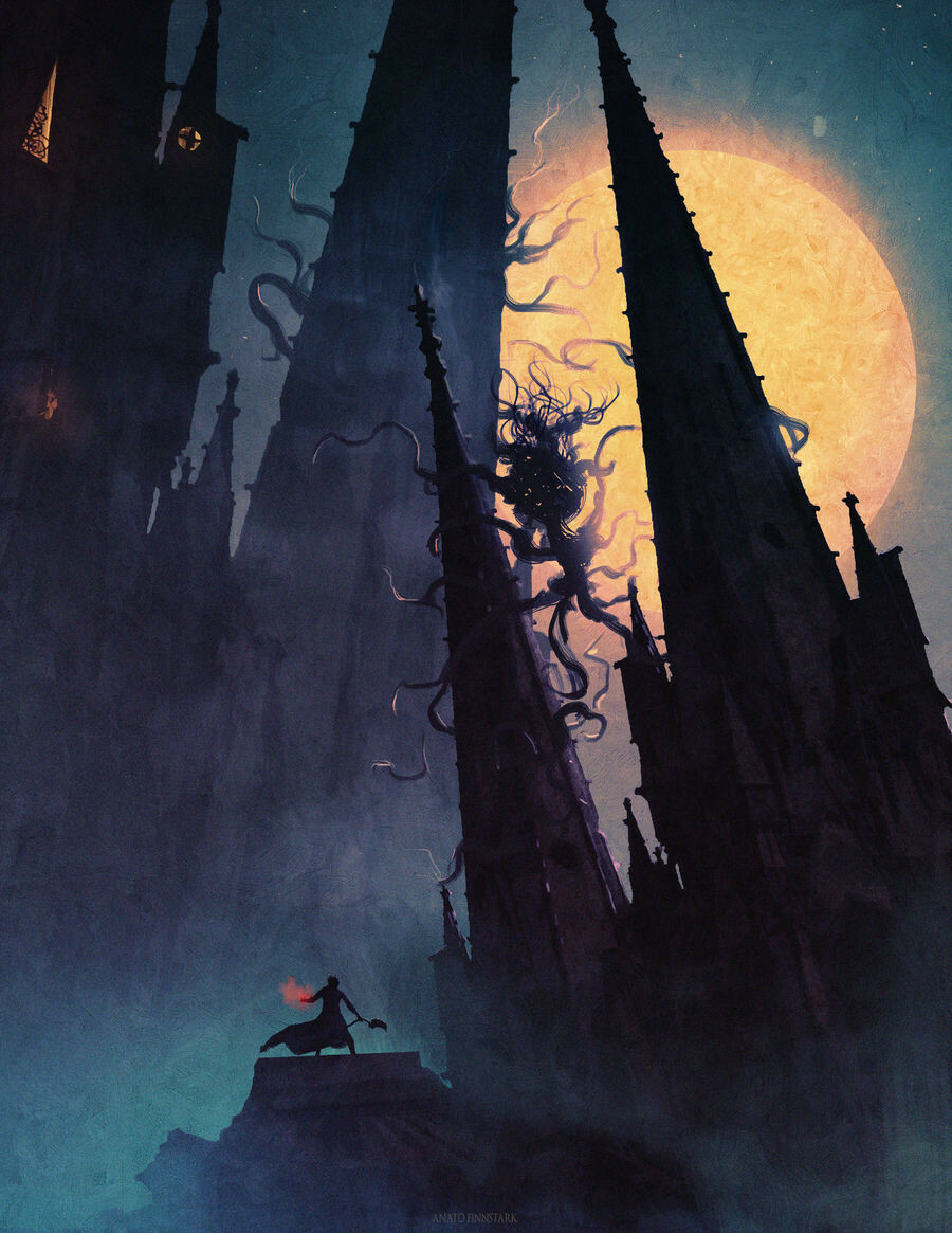 Anato finnstark anato finnstark moon presence bloodborne by anatofinnstark dctwu5l fullview