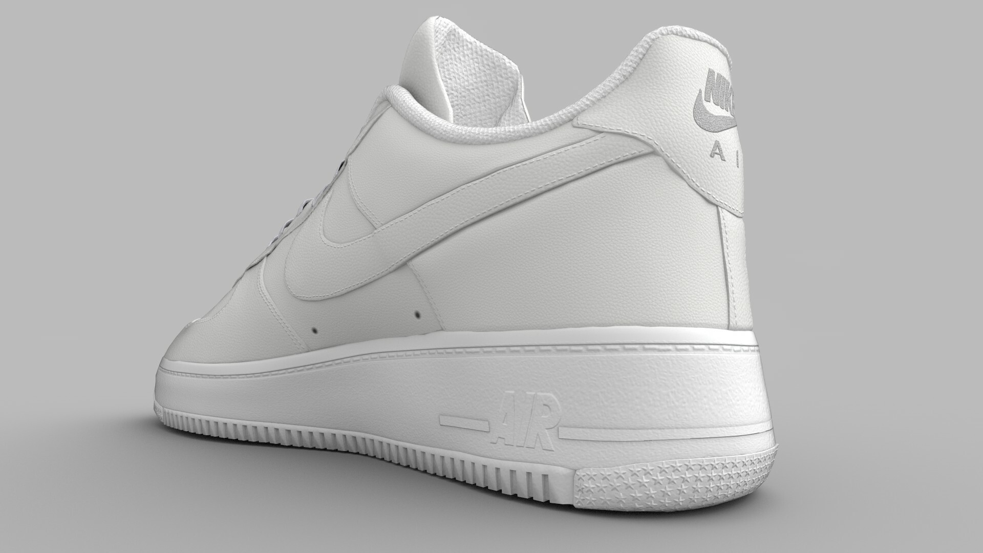 ArtStation Nike Air Force 1 Real Time, Joshua Farmer