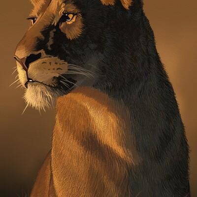 Garry fry lion3