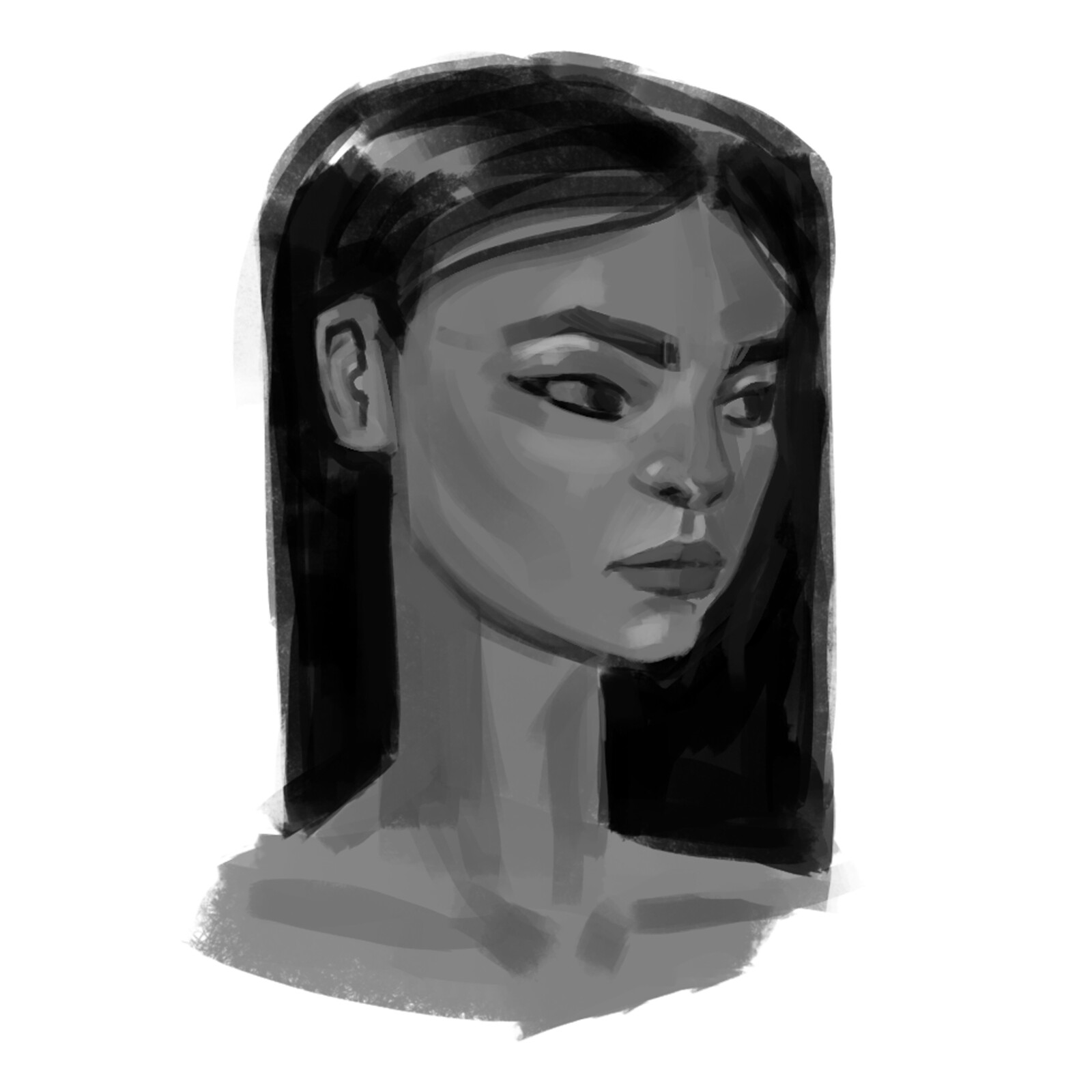 Face Study for new character