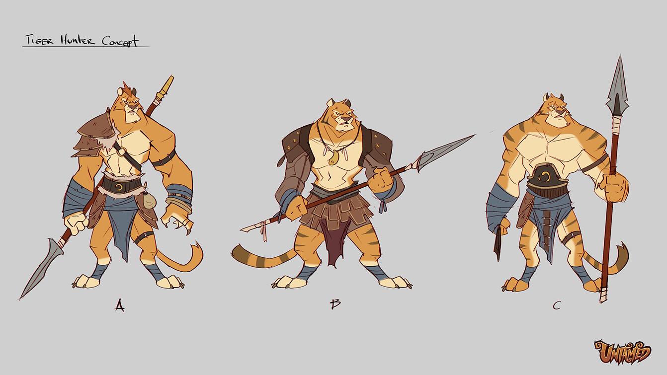 Julien vandois tigerhunterconcept v01