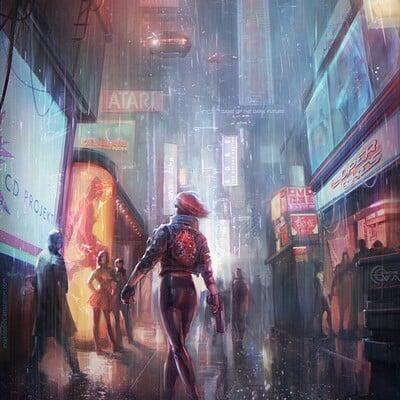 Eva kosmos cyberpunk 2077
