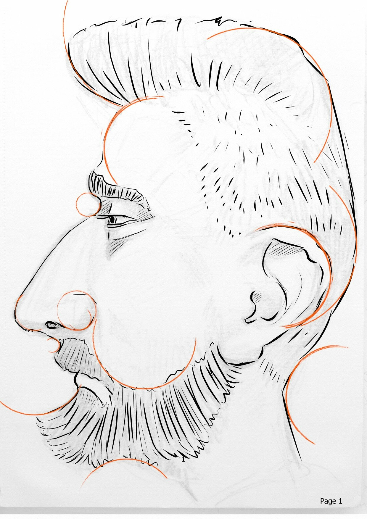 Mark grizenko caricature profile 01 wgoldenratio