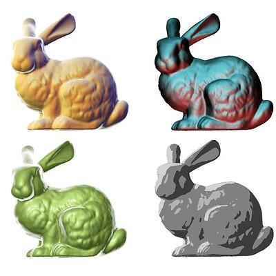 Victor li matcap bunnies