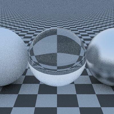 Victor li raytracing texture checker