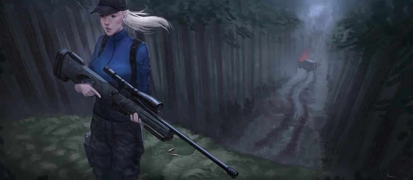 Matias merino sniper shot forest final 15