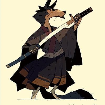 Satoshi matsuura 2019 06 04 wolf samurai s