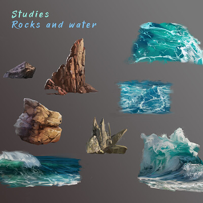 Mj venegas spadafora studies rocks and water