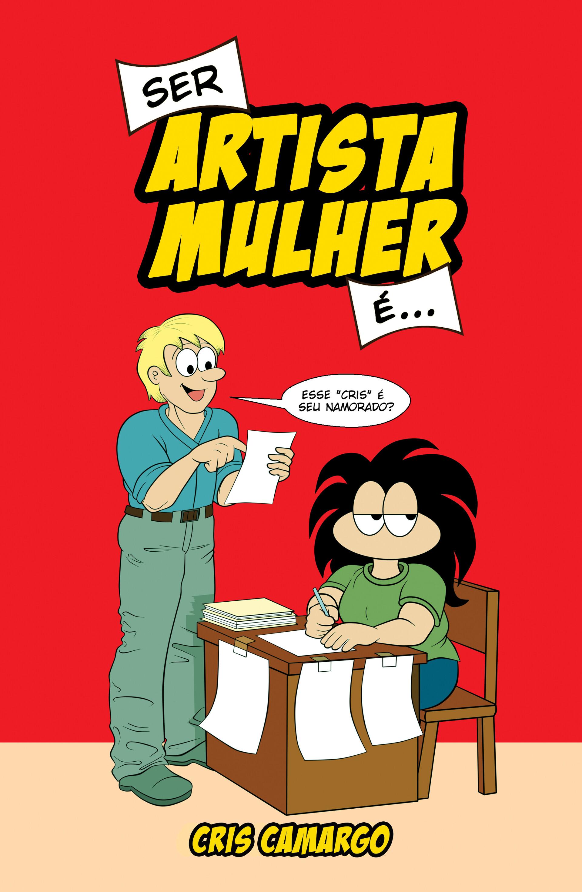 """Capa de """"Ser Artista Mulher é..."""""""