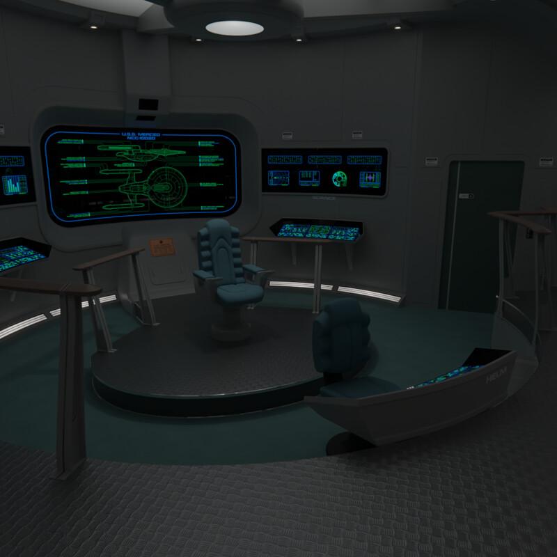 USS Merced Bridge