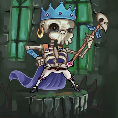 Niklas hook skeleton king