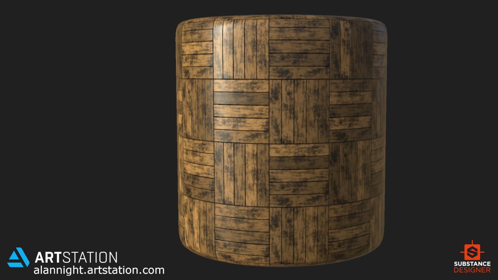 Cylinder Render in Substance Designer