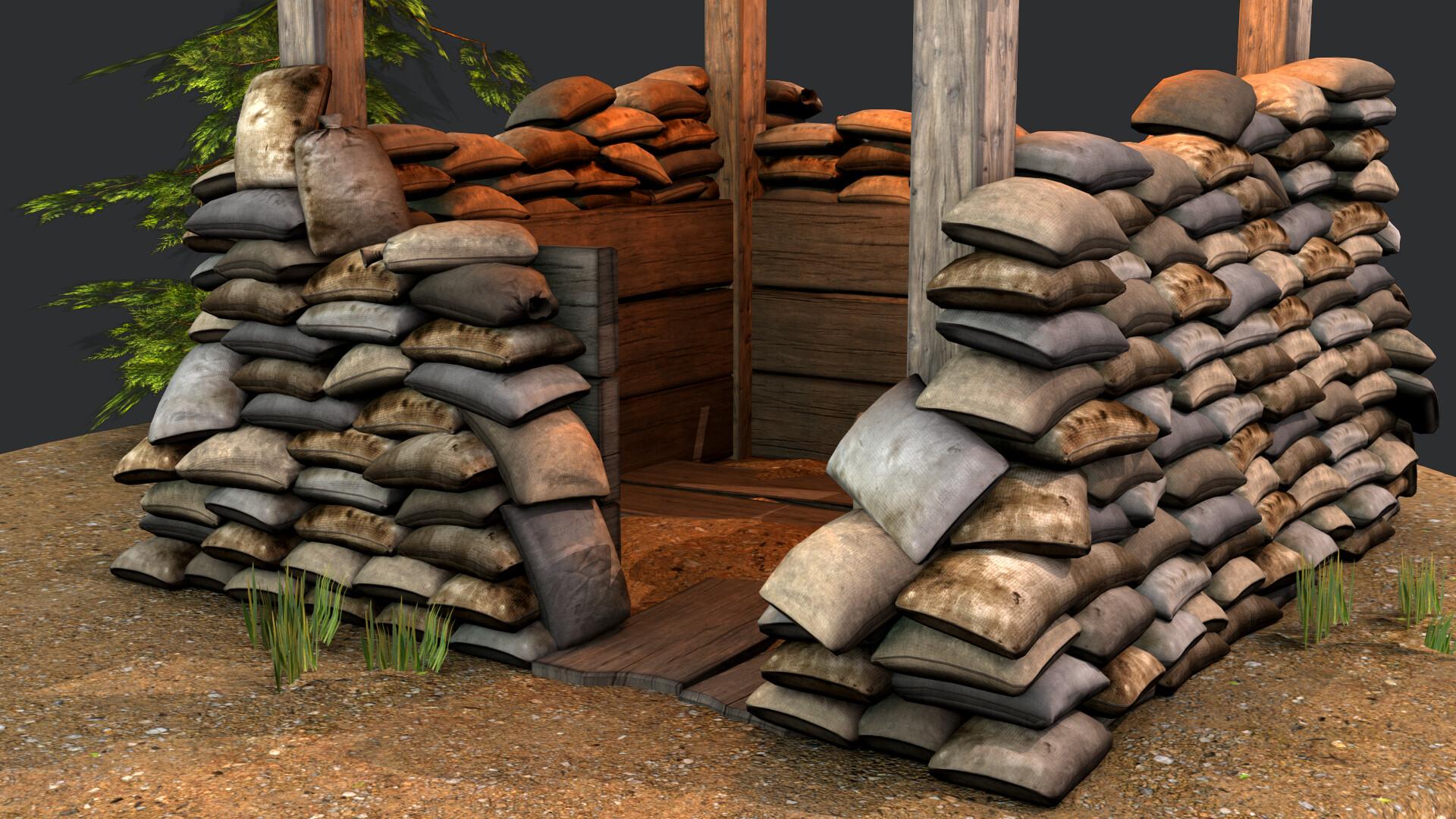 Jordan cameron sandbag bunker 16