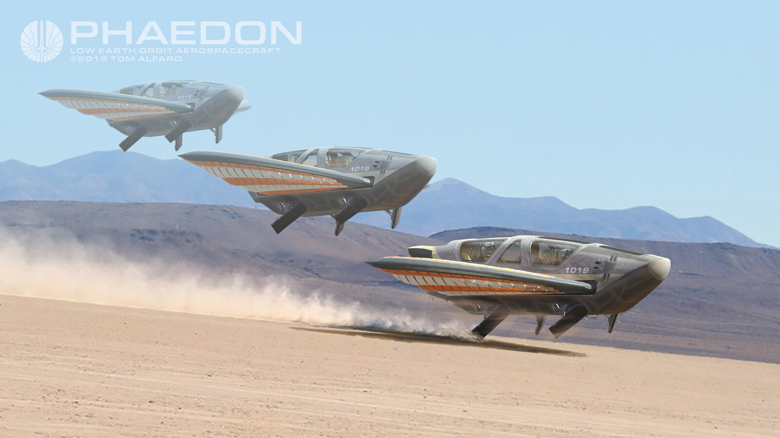 Desert emergency landing