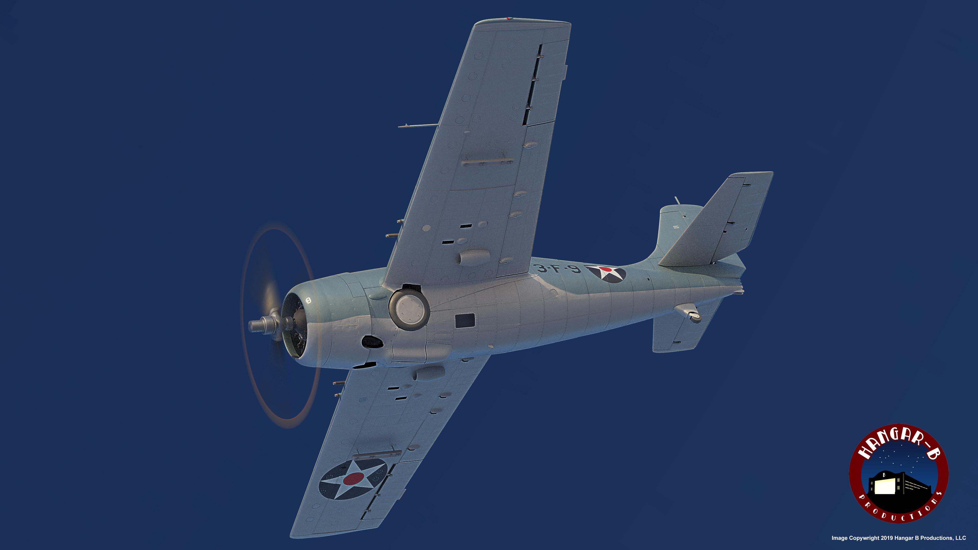 F4F-3 Final Render