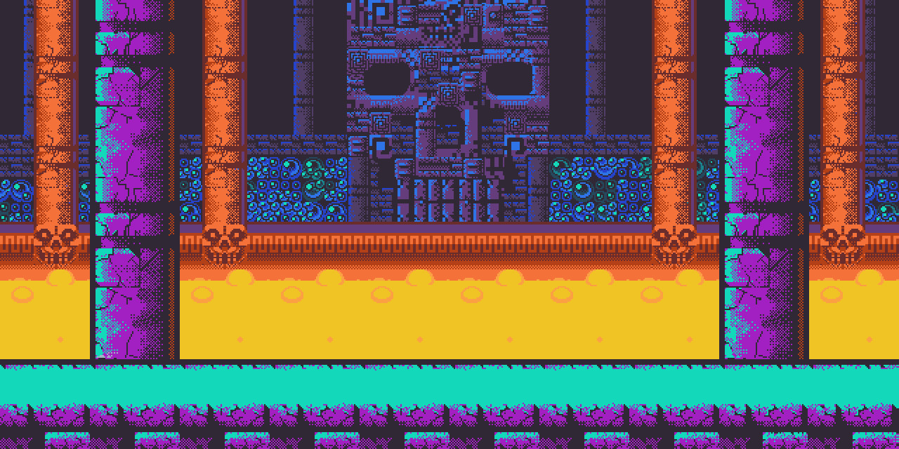 Skull Catacombs level background