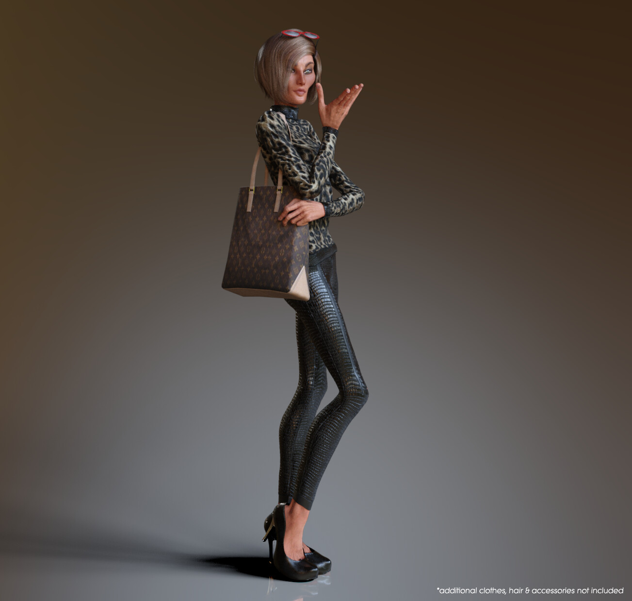 CC3 Stylized Base Female - Slim Morph