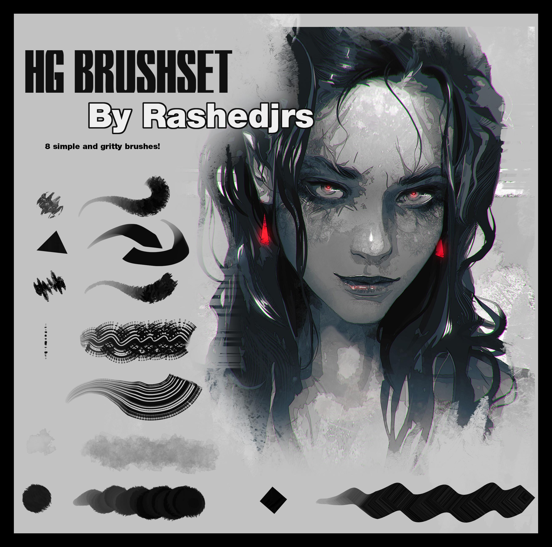 Brushes!!-->https://artstn.co/m/dMex